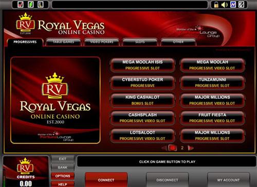 Royal Vegas Chat